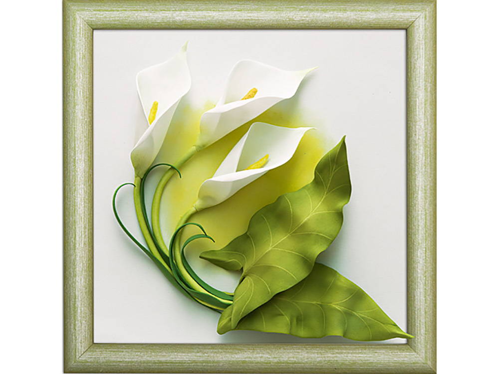 3D-картина из фоамирана «Каллы»