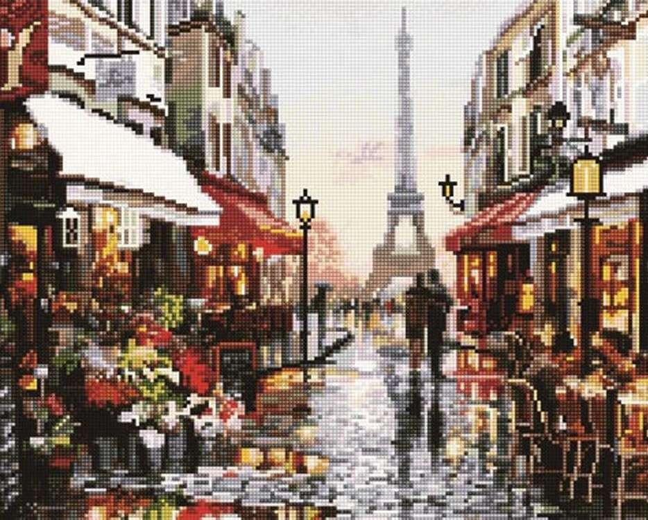 Алмазная вышивка «Париж» Ричарда МакнейлаАлмазная вышивка<br><br>