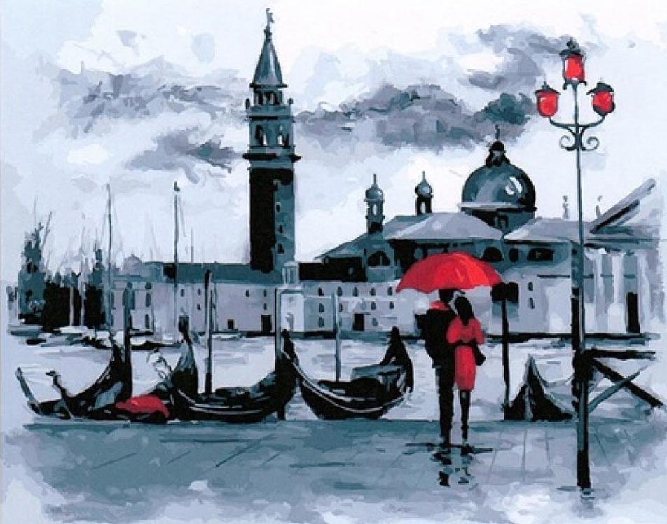 Картина по номерам «Прекрасная Венеция»Раскраски по номерам<br><br>