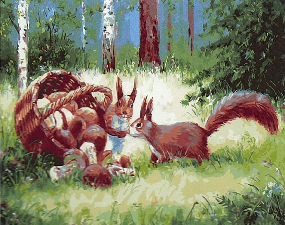 Картина по номерам «Рыжие бесстыжие» Владислава ЛебедькоРаскраски по номерам<br><br>