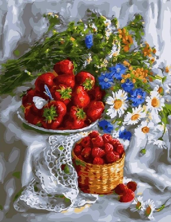Картина по номерам «Щедрость природы» Екатерины Калиновской - Paintboy (Premium)