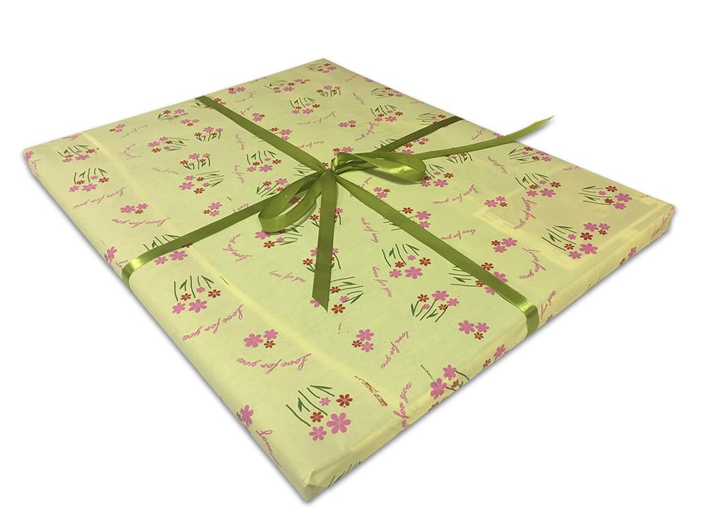 Подарочная упаковка «Маргаритки»Упаковка подарков<br>Как упаковать подарок?<br><br> Мы можем упаковать отдельный товар или весь заказ с несколькими товарами. Для этого:<br><br><br>Добавьте в корзину товары, которые хотите приобрести;<br>Добавьте в корзину нужное количество подарочных упаковок;<br>Оформите заказ;<br>Пр...<br>