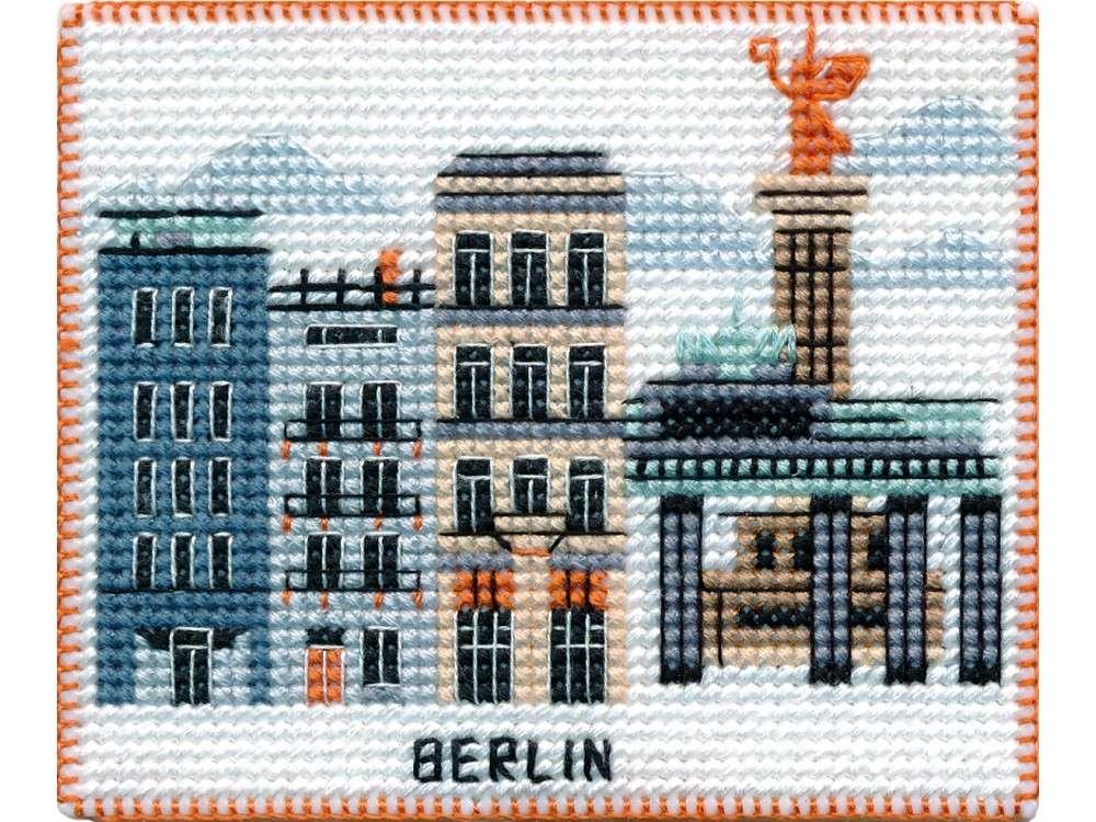 Набор для вышивания «Магнит. Столицы мира. Берлин»
