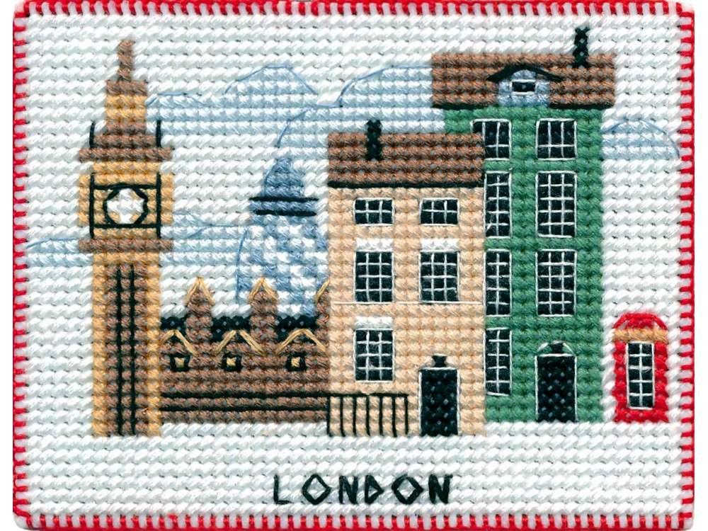 Купить Вышивка крестом, Набор для вышивания «Магнит. Столицы мира. Лондон», Овен