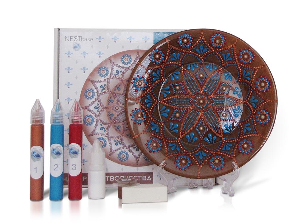 Купить Набор для точечной росписи «Brown Plate», NESTbase