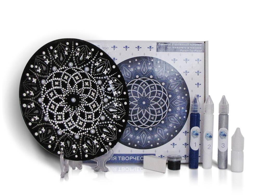 Купить Набор для точечной росписи «Black Plate», NESTbase