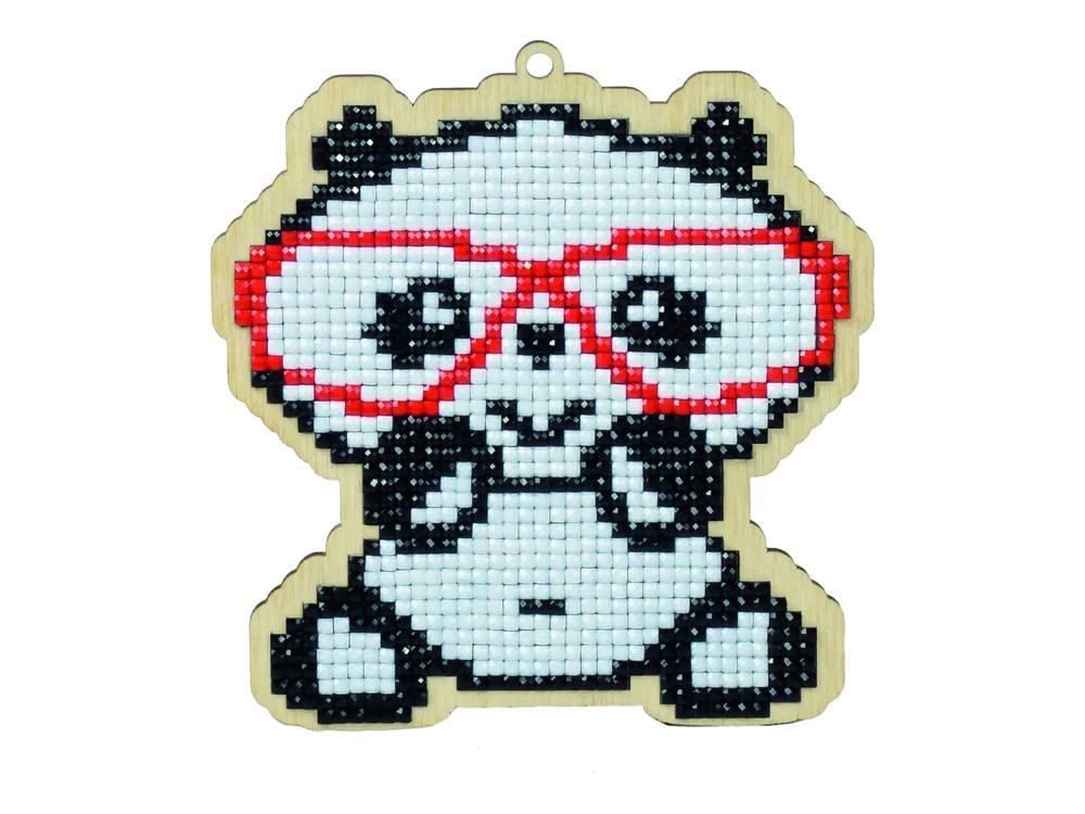 Подвеска «Панда в очках»