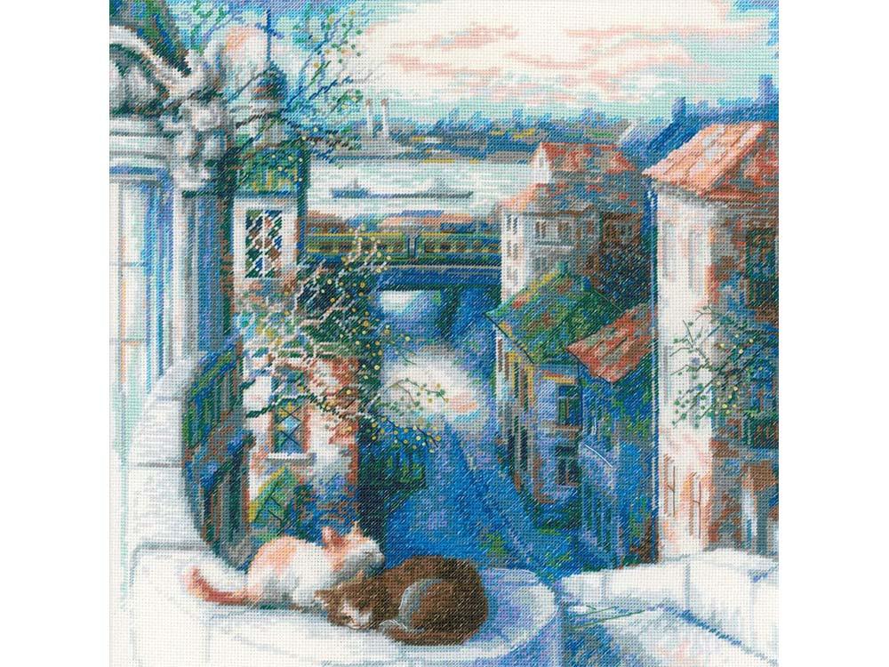 Купить Вышивка крестом, Набор для вышивания «Ранняя весна», Риолис (Сотвори Сама), 30x30 см, 1705