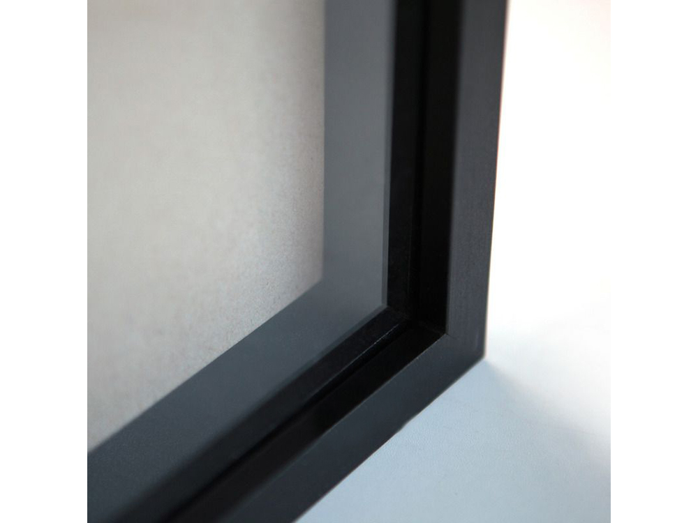 Рамка-аквариум с проставкой и стеклом Black_Box