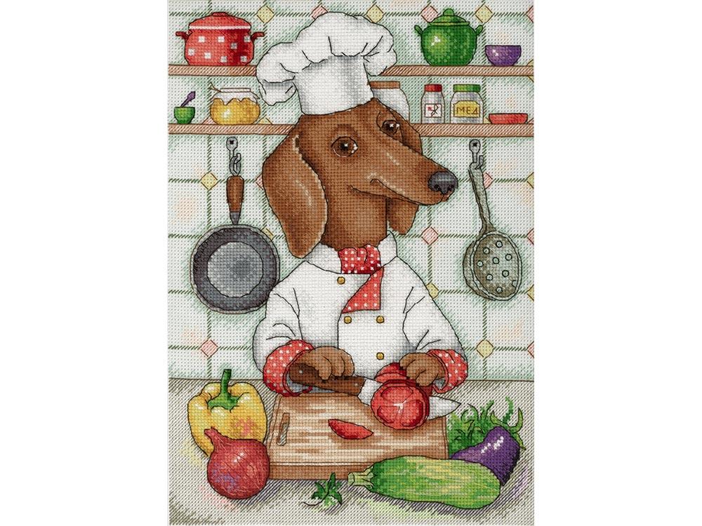 Набор для вышивания «Хвостатый кулинар»