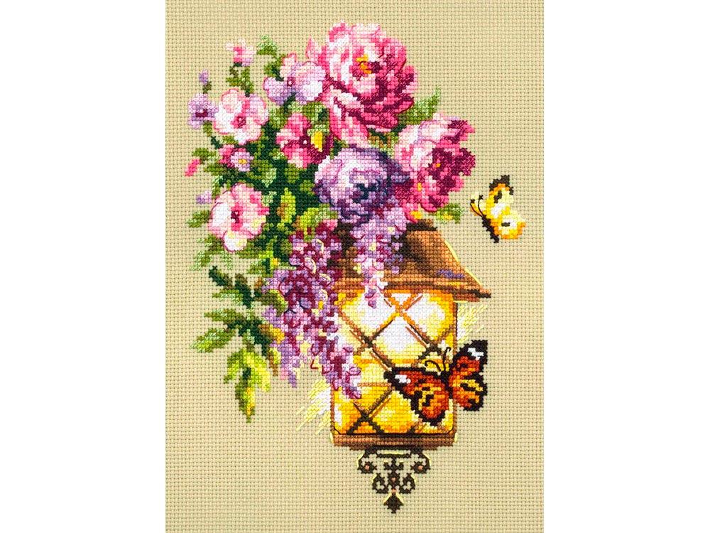 Купить Вышивка крестом, Набор для вышивания «Свет надежды», Чудесная игла
