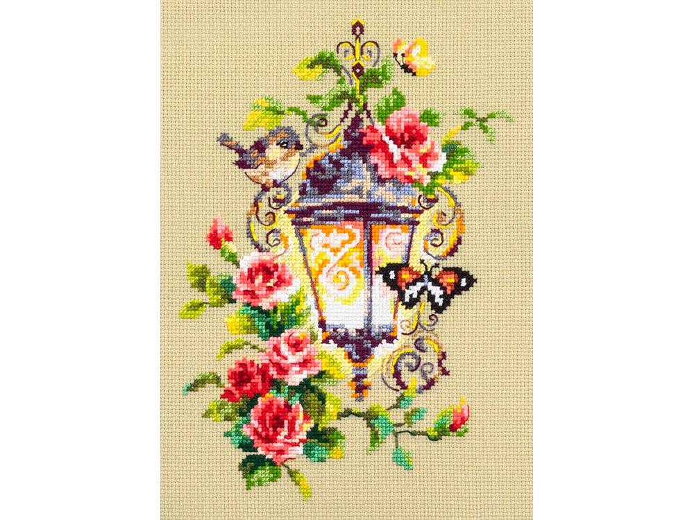 Купить Вышивка крестом, Набор для вышивания «Свет вдохновения», Чудесная игла