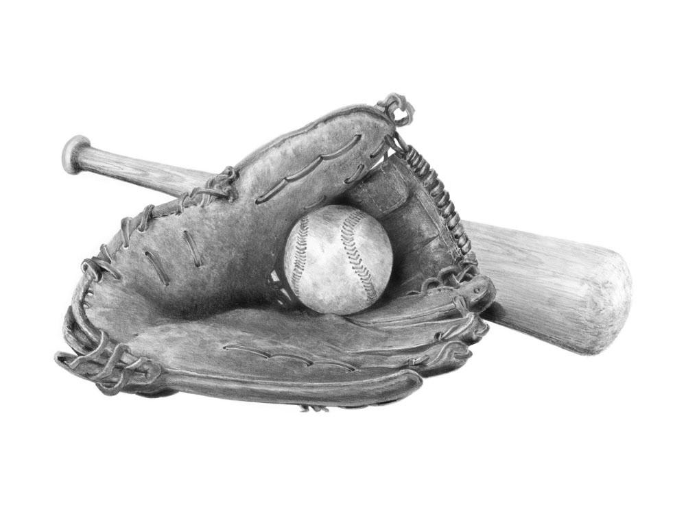 Набор для скетчинга «Бейсбол»