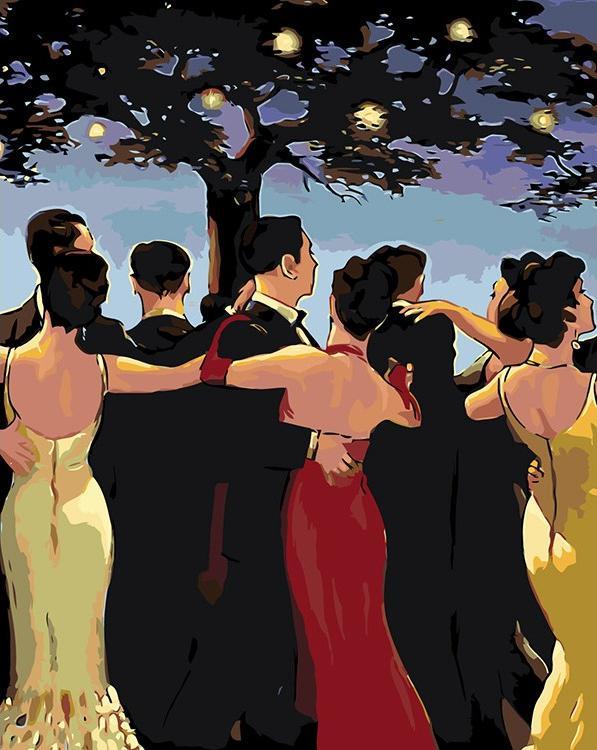 Картина по номерам «Вальс» Джека Веттриано