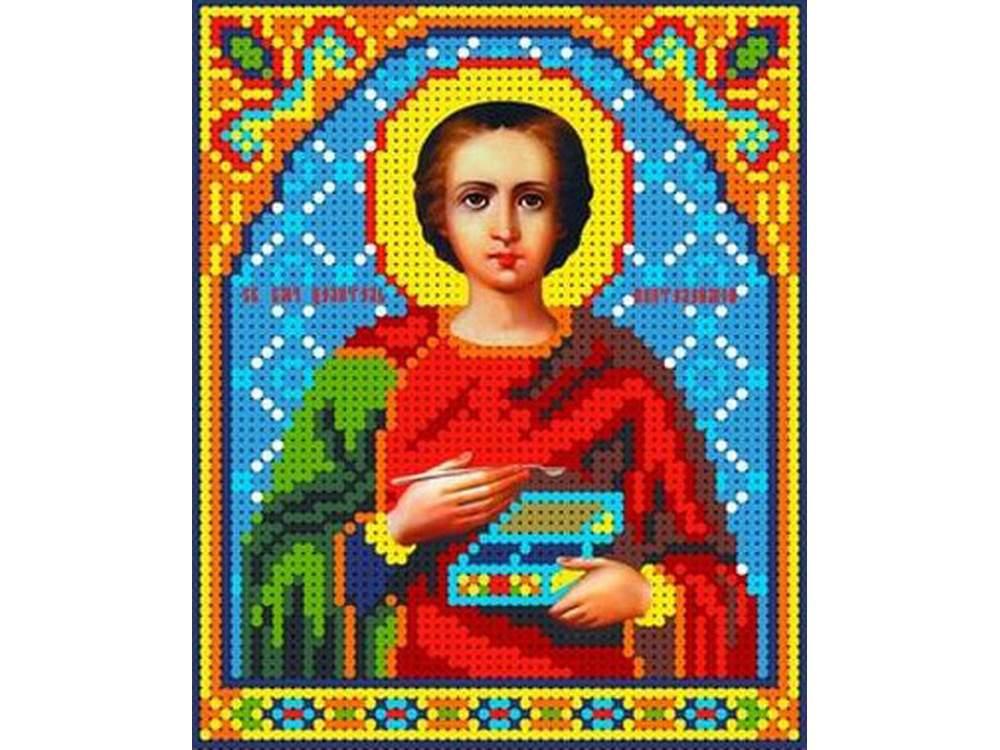 Набор вышивки бисером «Святой Пантелеймон»