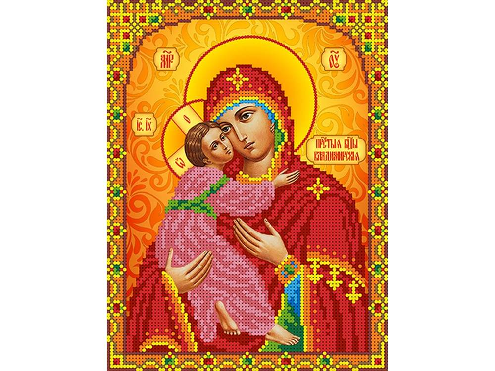 Набор вышивки бисером «Богородица Владимирская»