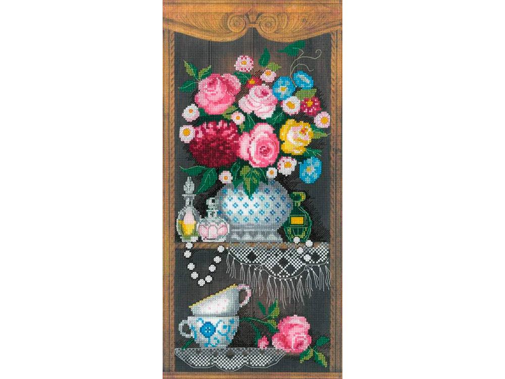 Купить Вышивка крестом, Набор для вышивания «Уютный уголок», Риолис (Сотвори Сама), 19x40 см, 0079 РТ