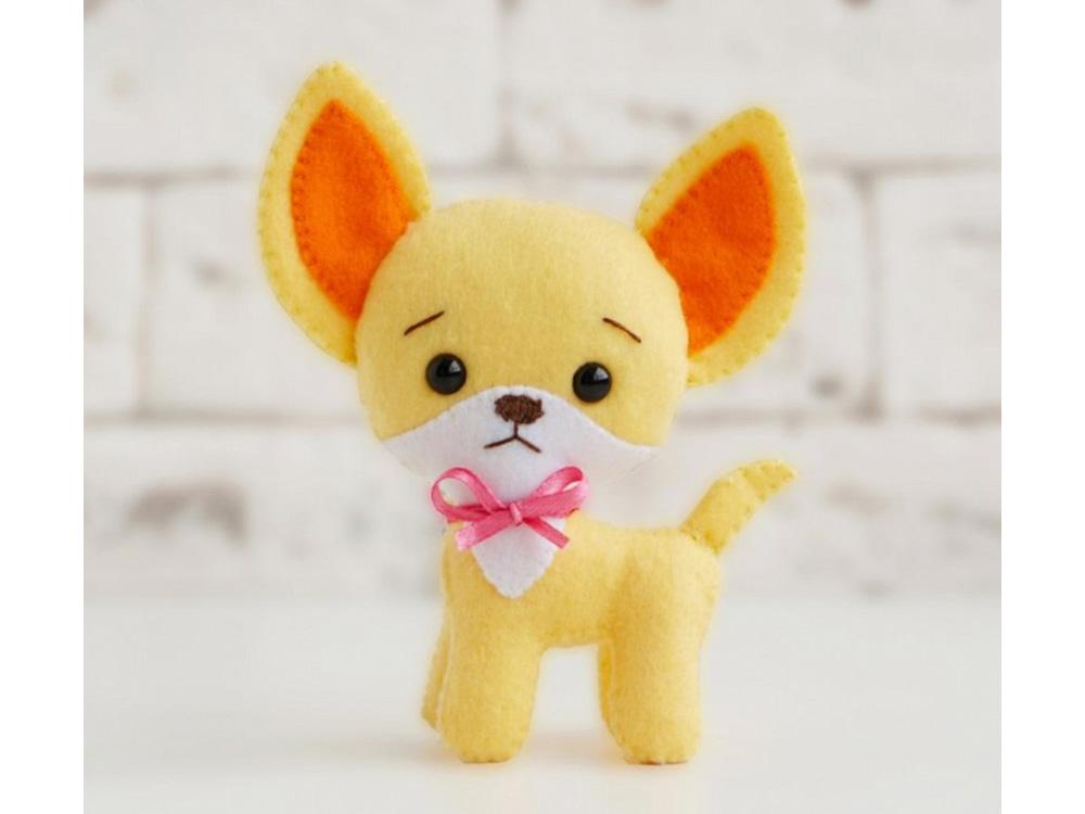 Набор для шитья игрушки «Собачка Максик»