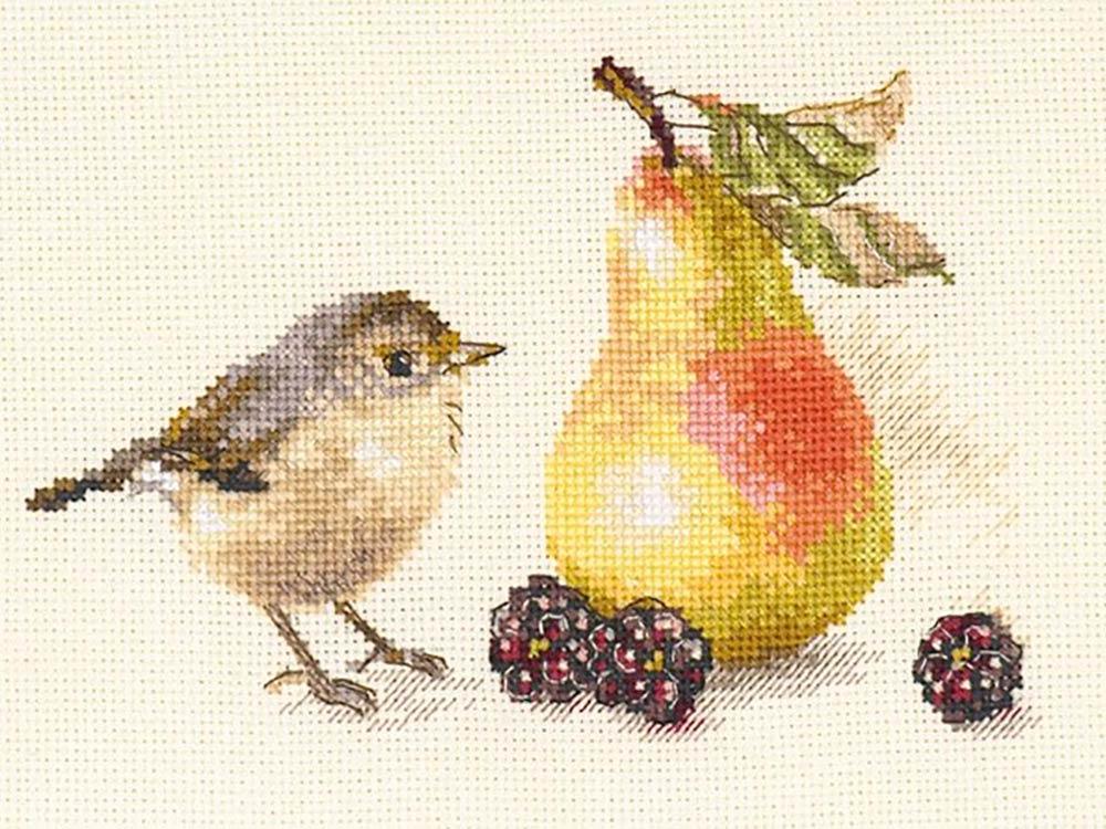 Набор для вышивания «Птичка и груша»
