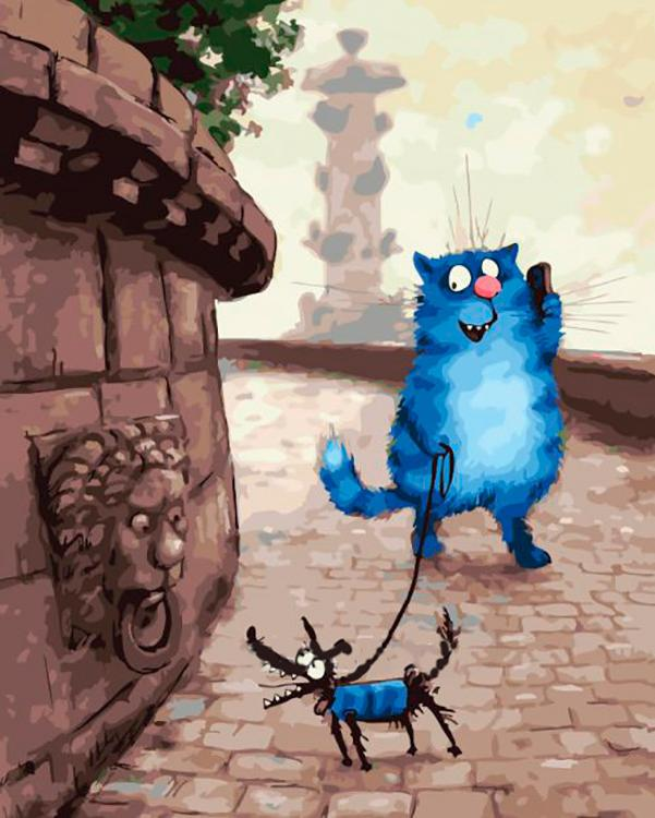 Купить Картина по номерам «Прогулка» Рины Зенюк, Paintboy (Original)