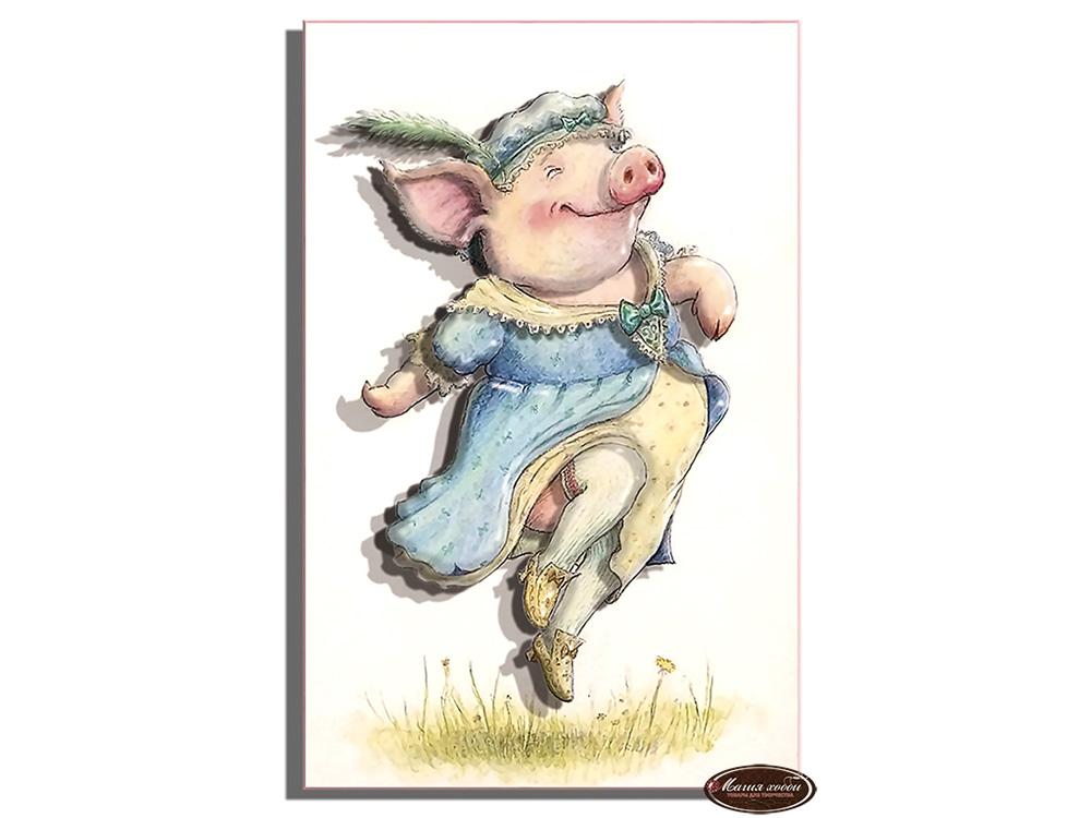 Папертоль «Мадам Пиги винтаж»
