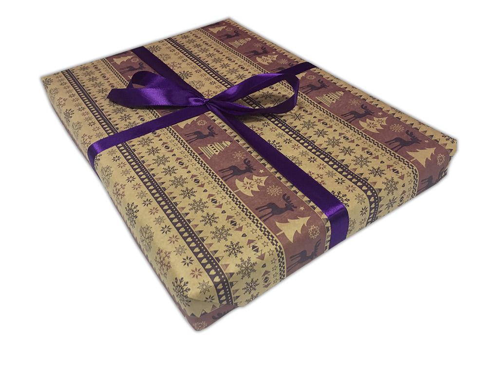 Подарочная упаковка «Скандинавский узор»