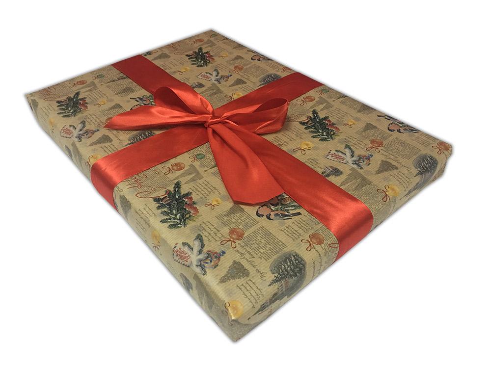 Подарочная упаковка «Заснеженный кремль»