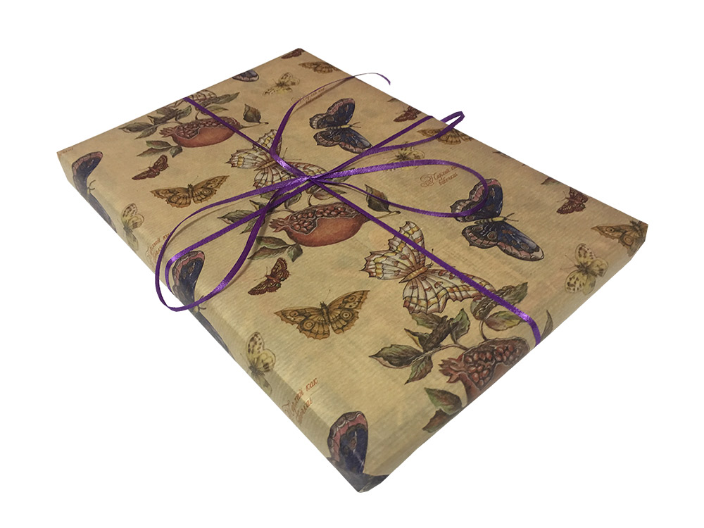 Подарочная упаковка «Бабочки»
