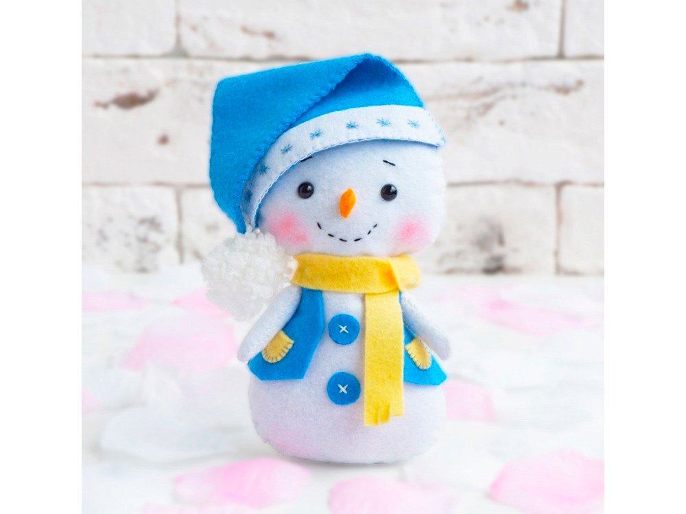 Набор для шитья игрушки «Снеговик»