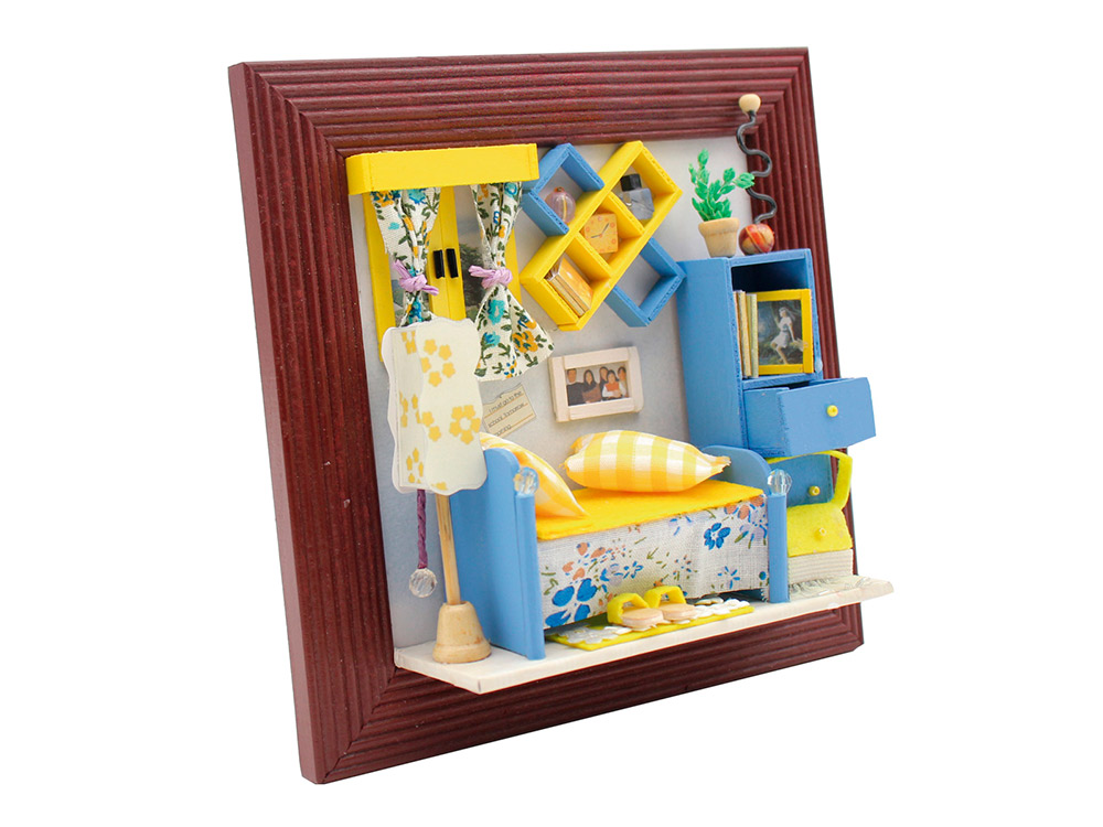 Набор для создания миниатюры (румбокс) «Уютная комната»