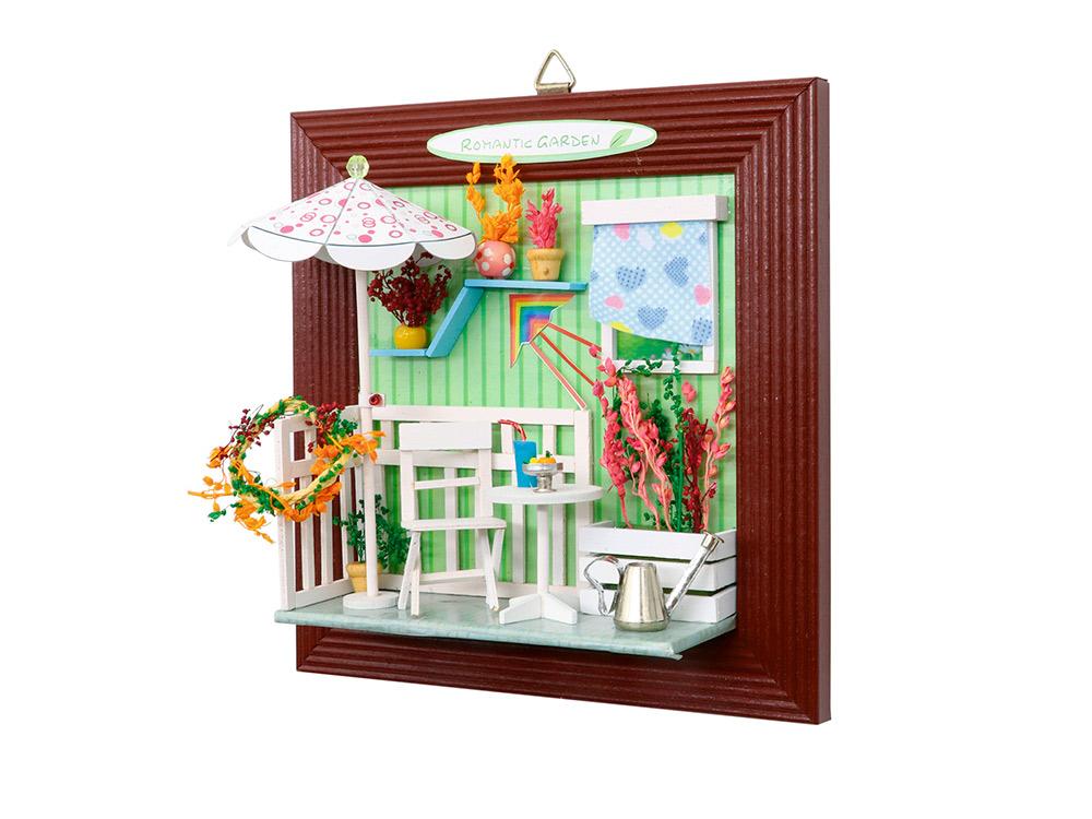 Набор для создания миниатюры (румбокс) «Летний сад»