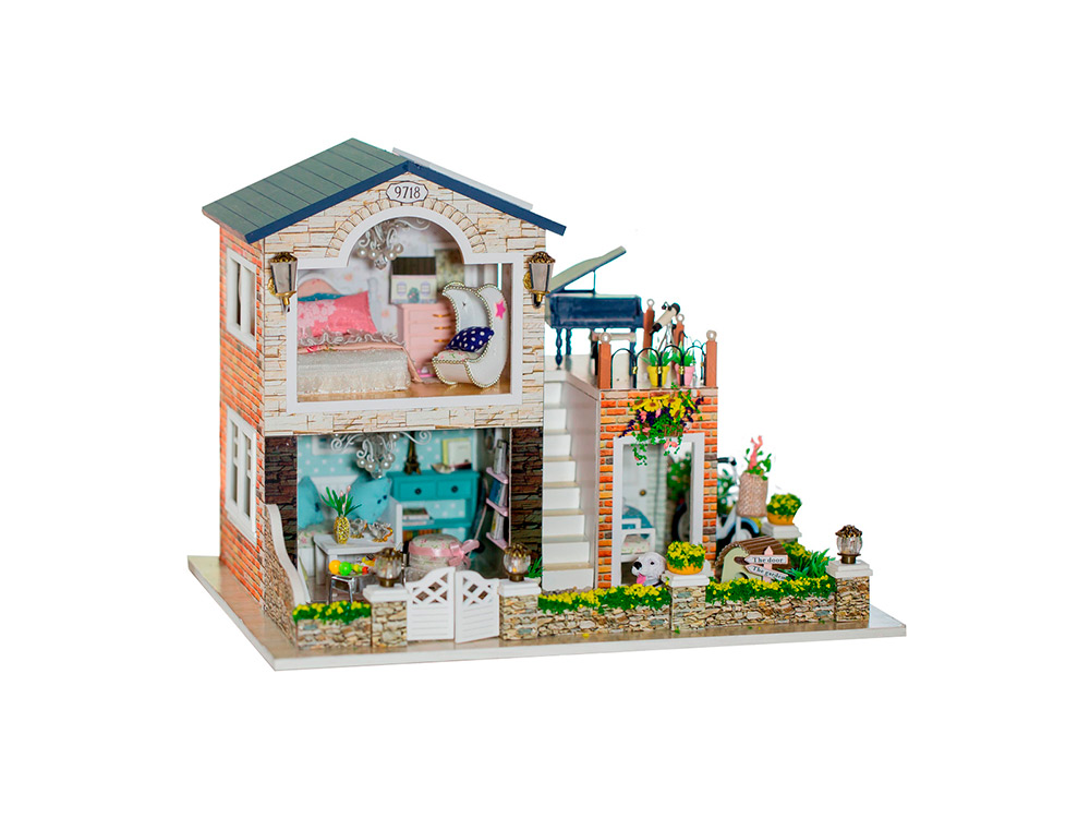 Набор для создания миниатюры (румбокс) «Сountry Village»