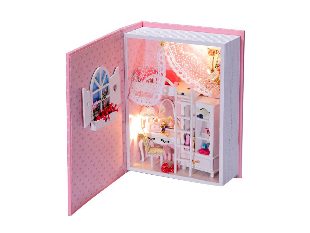 Набор для создания миниатюры (румбокс) «Розовый дневник»