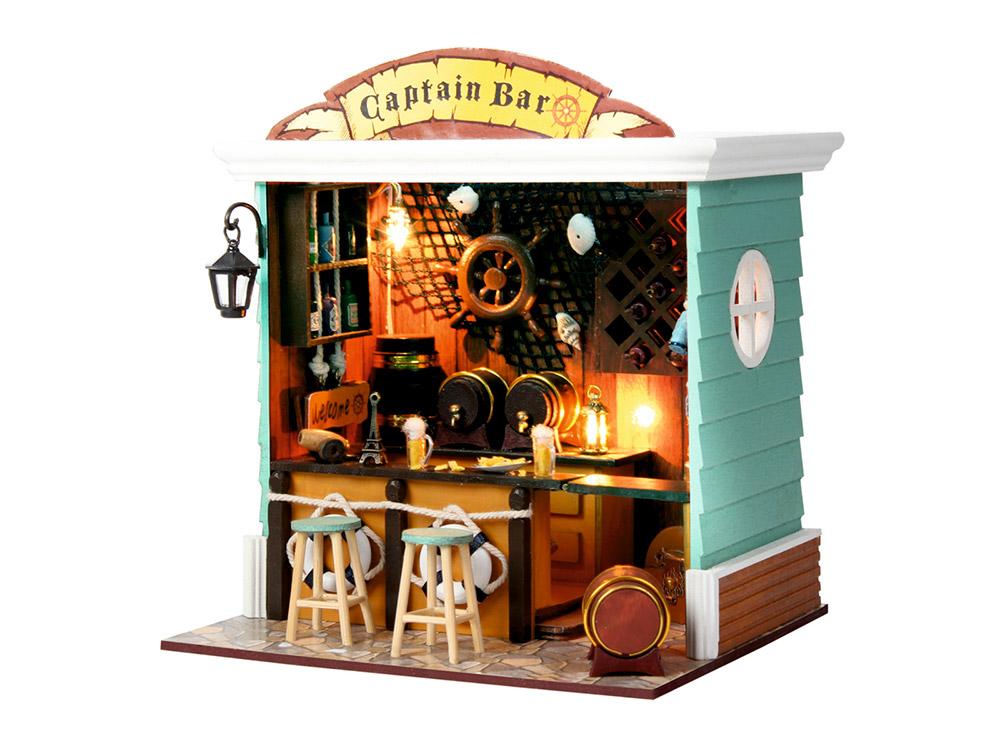 Набор для создания миниатюры (румбокс) «Captain Bar»