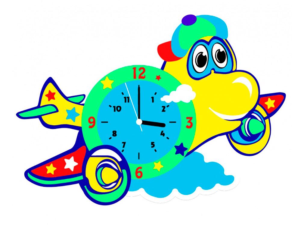 Набор для творчества «Самолет-часы»