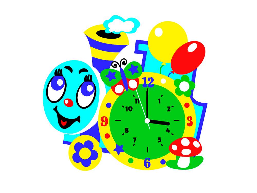 Набор для творчества «Паровозик-часы»