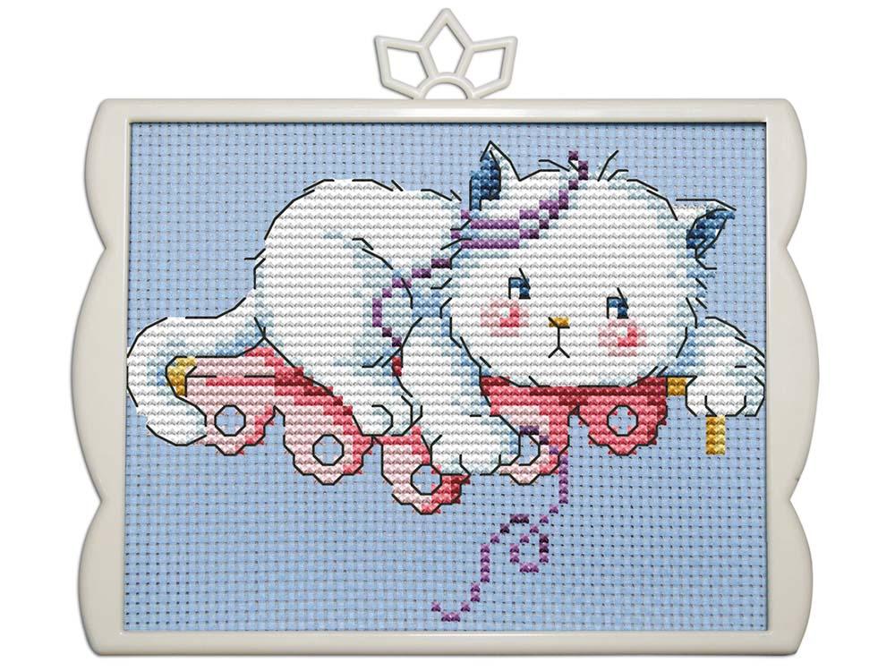 Купить Вышивка крестом, Набор для вышивания «Котёнок», NKF