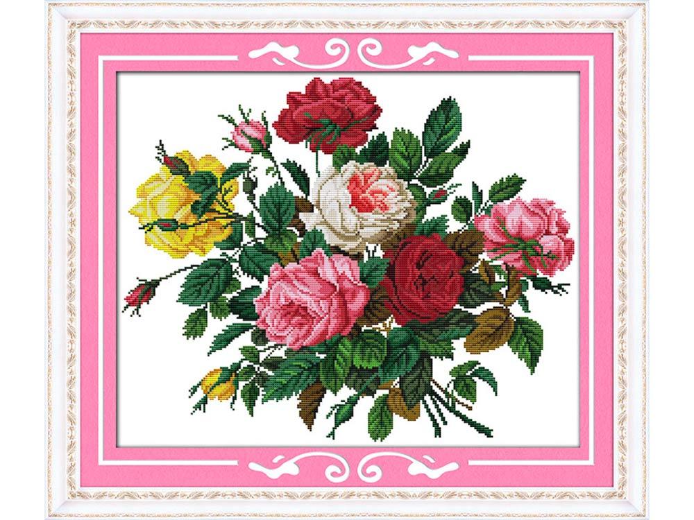 набор для вышивания прекрасные розы