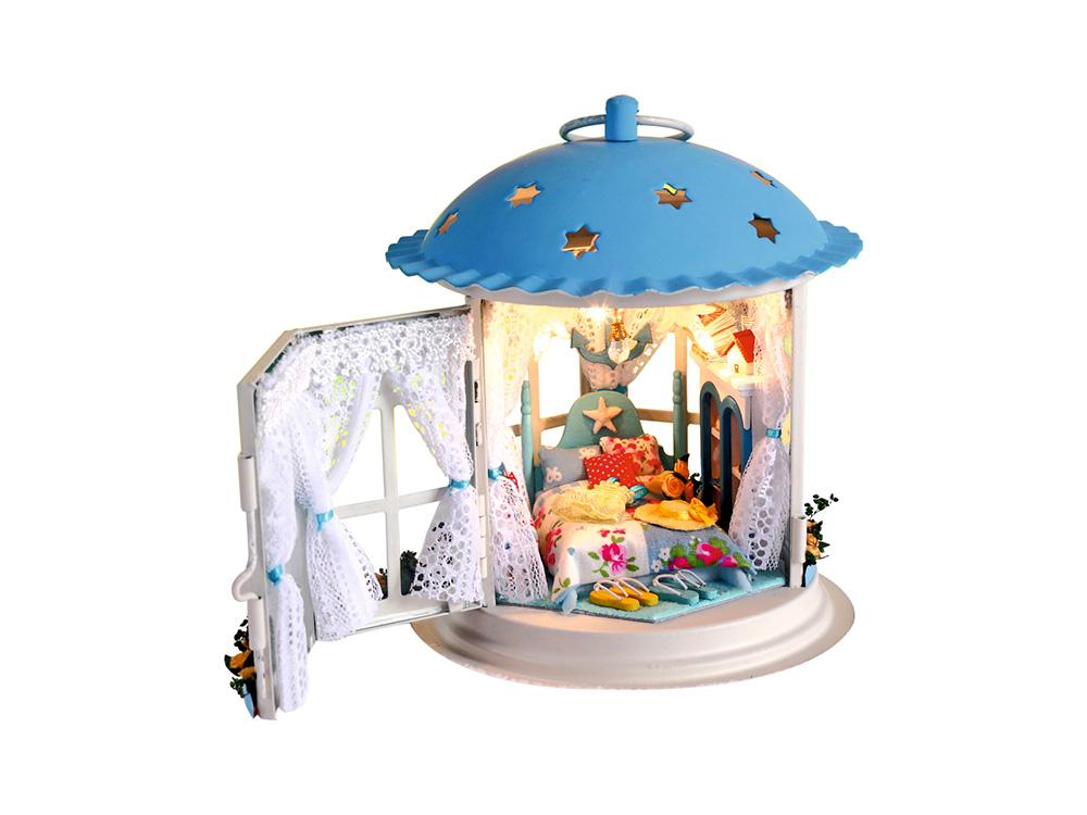 Набор для создания миниатюры (румбокс) «Фонарик Сны о море»