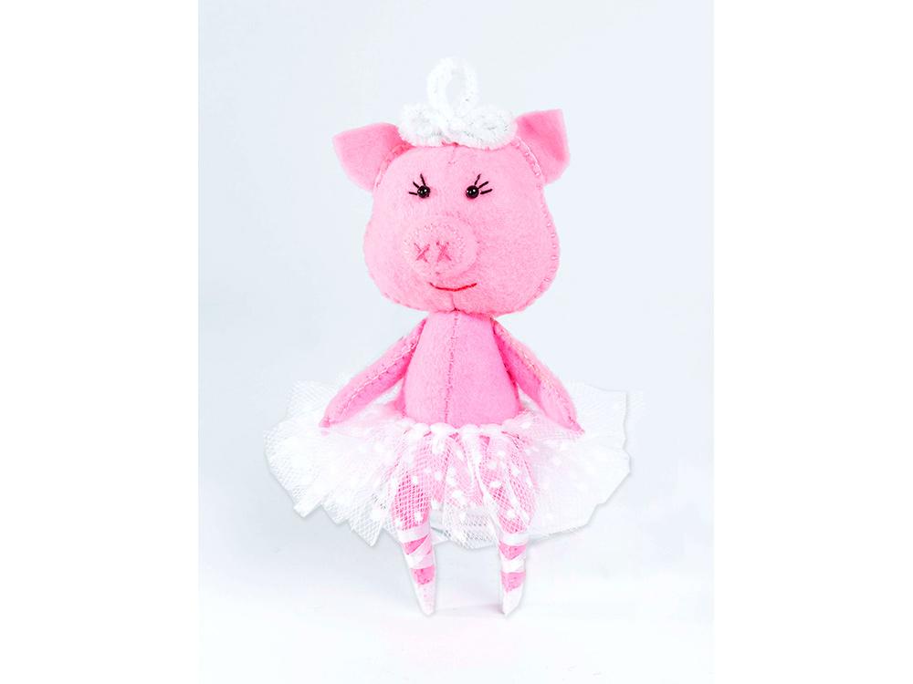 Набор для шитья «Свинка-балеринка»