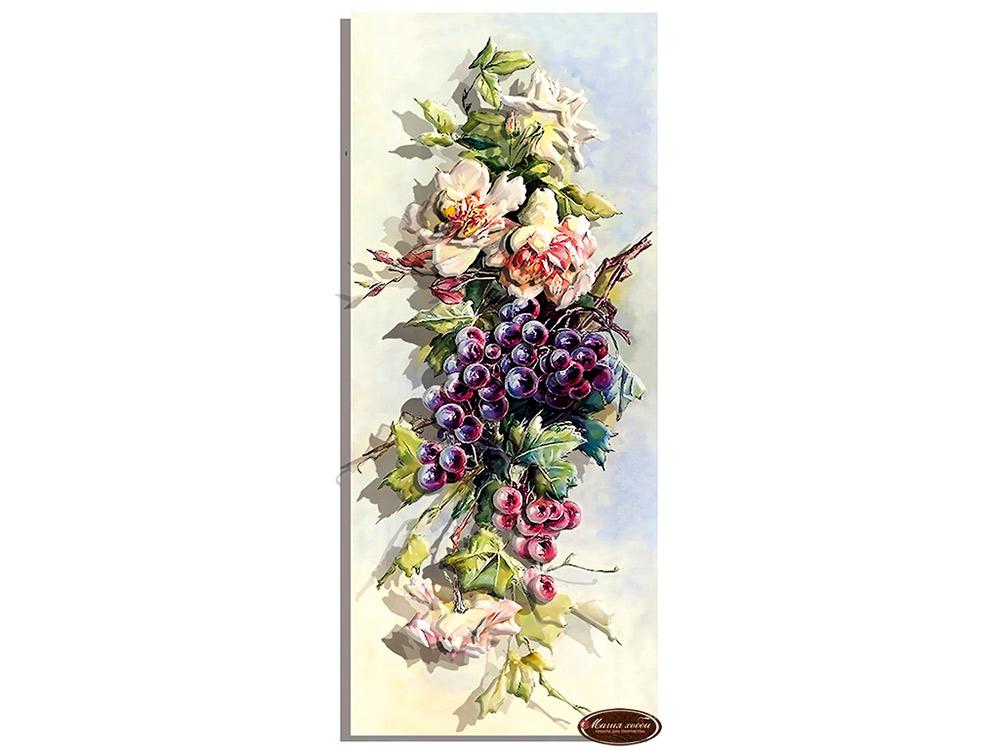 Папертоль «Розы и тёмный виноград»
