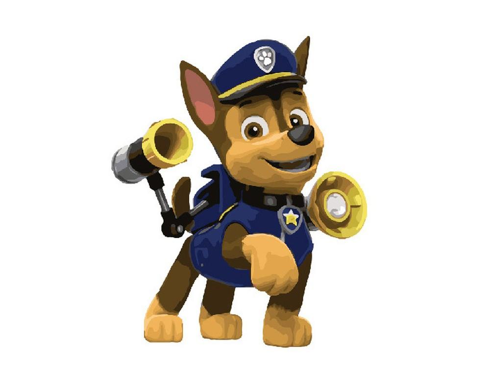 картина по номерам гонщик щенячий патруль вангогвомне