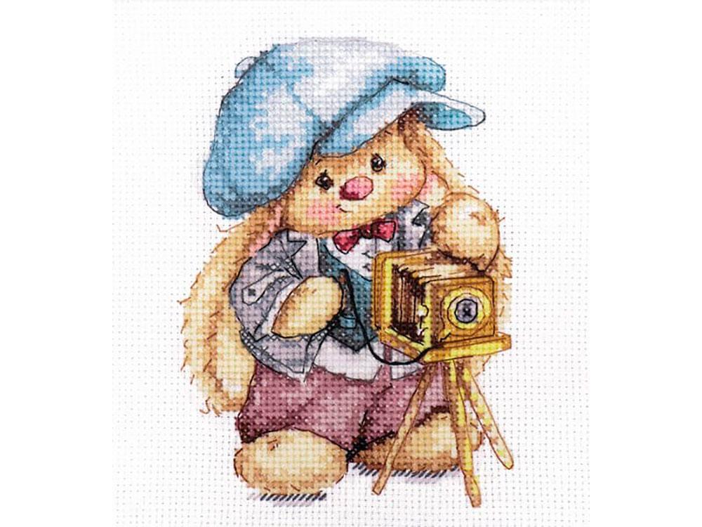 Набор для вышивания «Зайка Ми. Фотограф» фото