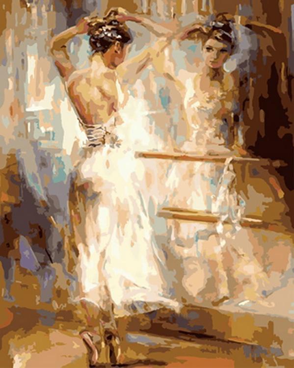Картина по номерам «Отражение души» Анны Разумовской