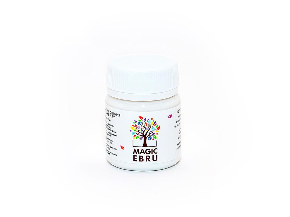 Краска для эбру белая 40 мл, Magic EBRU