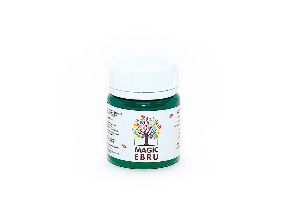 Краска для эбру зеленая 40 мл, Magic EBRU