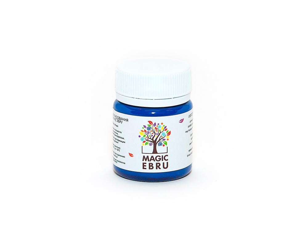 Краска для эбру голубая 40 мл, Magic EBRU