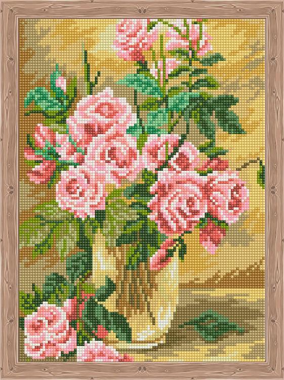 Алмазная вышивка «Розовое вдохновение»