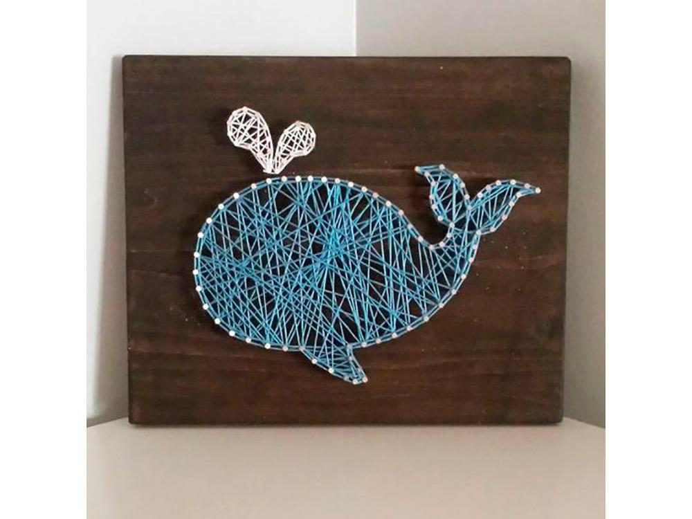 Купить Набор для творчества STRING ART «Кит», Woodberry