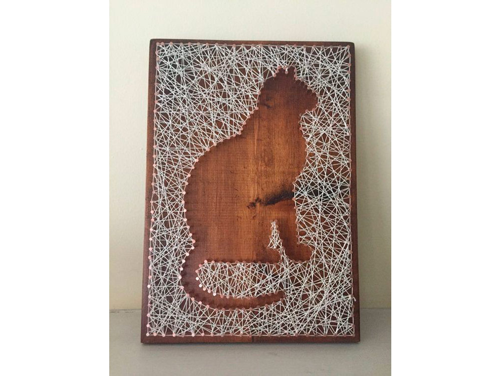 Купить Набор для творчества STRING ART «Котенок», Woodberry